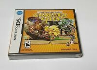 Final Fantasy Fables: Chocobo Tales (Nintendo DS, 2007) new