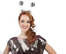 New Disco Ball Head Boppers Headband Hairband Hat 60s 70s 80s Party Night Fever