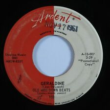 R&B Exotica 45 OLE MISS DOWN BEATS Geraldine ARDENT promo HEAR