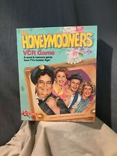 The Honeymooners VCR VHS Game 1986 Mattel Jackie Gleason Art Carney Classic TV