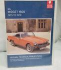 MG Midget 1500 1975-79 Original Technical Publications CD/ROM - Manuals, Books