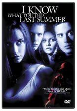 DVD I Know What You Did Last Summer- Sarah Michelle Gellar, Jennifer Love Hewitt