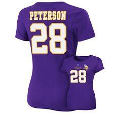 ($48) Minnesota Vikings ADRIAN PETERSON nfl Jersey Shirt Adult WOMENS/LADIES xl