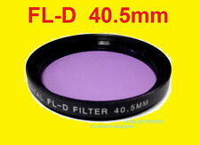 40.5mm FL-D FILTER FLD Fluorescent to CAMERA SONY A6000 A5000 NEX-3N NEX-5 NEX-6