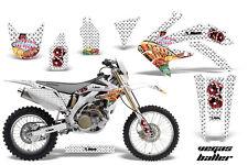 Honda CRF 450X Graphic Kit AMR Racing # Plates Decal Sticker Part 05-13 VBW