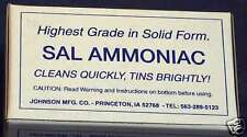 1 lb Sal Ammoniac for Tinsmithing, Coppersmithing,