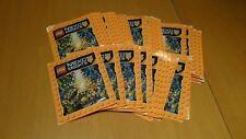 30 Sacchetti (150) STICKER LEGO Nexo Knights