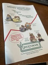 Merry Miniatures Hallmark The First Greenbook Guide Figurines 1996 Vintage