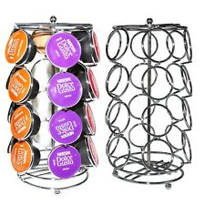 2 Rotating Coffee Pod Capsule Stand Holders for Dolce Gusto - Racks Hold 24 Pods