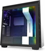 NZXT H710i White RGB ATX Mid Mid Tower Case Tempered Glass Desktop Computer Case