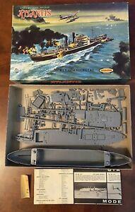 1959 Aurora #710-2.49 German Sea Raider Atlantis Model Kit MIB Complete & Rare!