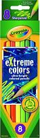 Crayola Extreme Colored Pencils, Assorted 8 Count, Art Supplies Drafting Tool