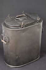 "1941  WW2 GERMAN ESSENTRAGER ""eve"" HOT FOOD RATIONS CARRIER CONTAINER HOLDER BOX"