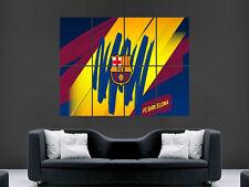 Barcelona Fc Club Fútbol Pared Gigante de fútbol arte cartel impresión de foto grande