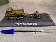 1:72 IXO  Steyr RSO 0/1 + Pak 40 Anti-Tank Gun 2.Pz.Div. Normandie FR 44 315