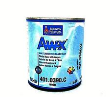 SHERWIN WILLIAMS BASE ACQUA AWX 0390 BIANCO PER TINTOMETRO CARROZZERIA LT 0,946