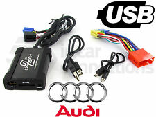 Audi A3 USB adapter interface CTAADUSB003 car AUX SD input MP3 jack 1996 - 2005
