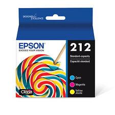 Epson 212 Standard capacity color multi-pack ink cartridges C/M/Y