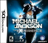 Michael Jackson The Experience - Nintendo DS Brand New Factory Sealed