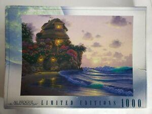 Roseart Al Hogue 2001 Peaceful Refuge 1000 Piece Puzzle Limited Edition Sea