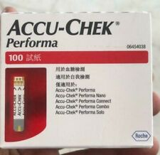 Accu chek Performa 1000 Test strips (10 x 100)strips EXP:- 2021/5 Made In USA