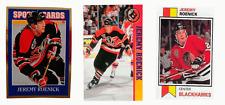 (3) Jeremy Roenick Odd-Ball Hockey Card Lot Chicago Blackhawks