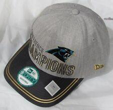 NFL CAROLINA PANTHERS NEW ERA 2015 NFC CONFERENCE LOCKER ROOM CHAMPIONSHIP HAT