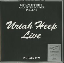 URIAH HEEP LIVE DOUBLE VINYL LP 180 GRAMS IN COLOUR RSD 2017 NEW SEALED