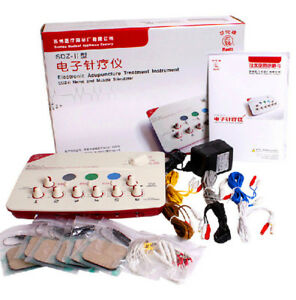 Hwato SDZ-II Electronic Acupuncture Needles Stimulator Machine 6 Output EMS