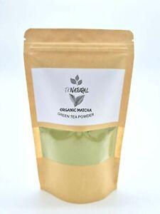 Organic Matcha Green Tea Powder 100% Natural Organic Grade AAA UK Seller