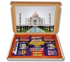 Taj Mahal Agra India Tomb 24 Bar Cadbury Chocolate Hamper Personalised Gift Box