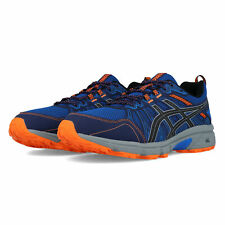 Asics Mens Gel-Venture 7 Trail Running Shoes Trainers - Blue Sports Breathable