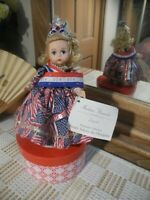 LE 1996 LEGENDS USA Wendy Doll Salutes Olympians Madame Alexander Crown Sash 8""