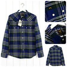 Camicie casual e maglie da uomo blu marca Lee s