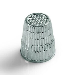 Prym Thimble - anti-slip 16.5mm silver-coloured sewing quilting patchwork 431843