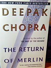 The Return of Merlin by Deepak Chopra 1996 Paperback