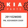 291102W000 Kia Pnl assyunder cover 291102W000, New Genuine OEM Part