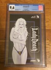 Lady Death #14 WONDERCON SUNDAY LIMITED EDITION HIGHEST GRADED CGC COPY