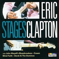 Eric Clapton Stages (12 tracks, 1966-77/93) [CD]