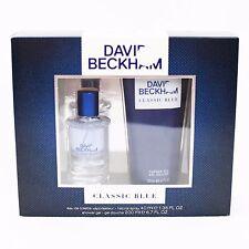 DAVID BECKHAM CLASSIC BLUE GIFT SET - 40ML EAU DE TOILETTE + 200ML SHOWER GEL.