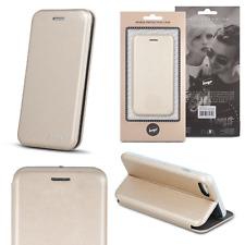 ^ Beeyo DIVA Hülle Samsung Galaxy S8 Plus Gold Case Schutz Buch Cover Schale