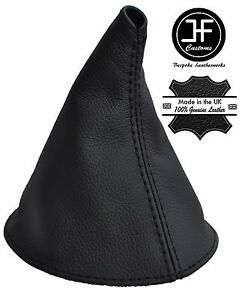 BLACK STITCHING REAL LEATHER MANUAL SHIFT BOOT FITS TRIUMPH SPITFIRE