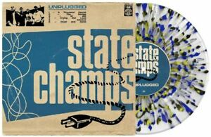 State Champs Unplugged Exclusive RARE Clear Blue Yellow Black Splatter Vinyl LP