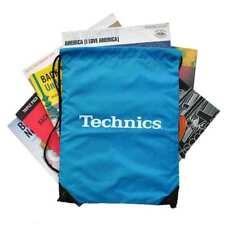 DMC DJ - Technics Wax-Sac - Multi Purpose Drawstring Bag - Blue White Logo