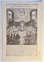 vermutl. Antonie WIERIX (c.1552-c.1624) Kupferstich um 1590: La descente du...