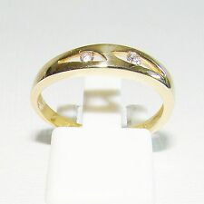 Ring Gold 375 9 kt 0,075 ct. Brillanten Goldringe 9 kt. Brillantringe I Diamant