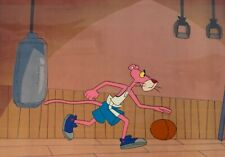 4 x Pink Panther Animation Production Cels