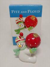 New ListingFitz & Floyd Snow Buddies Salt & Pepper Shakers 2005
