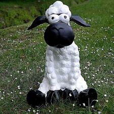 Dekofigur Schaf Molly sitzend Gartenfigur Deko Tierfigur Lamm lustig Terrasse