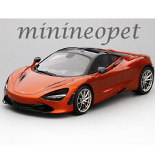 TOP SPEED TS0140 MCLAREN 720S 1/18 LIMITED 1 OF 999 PIECES AZORES ORANGE